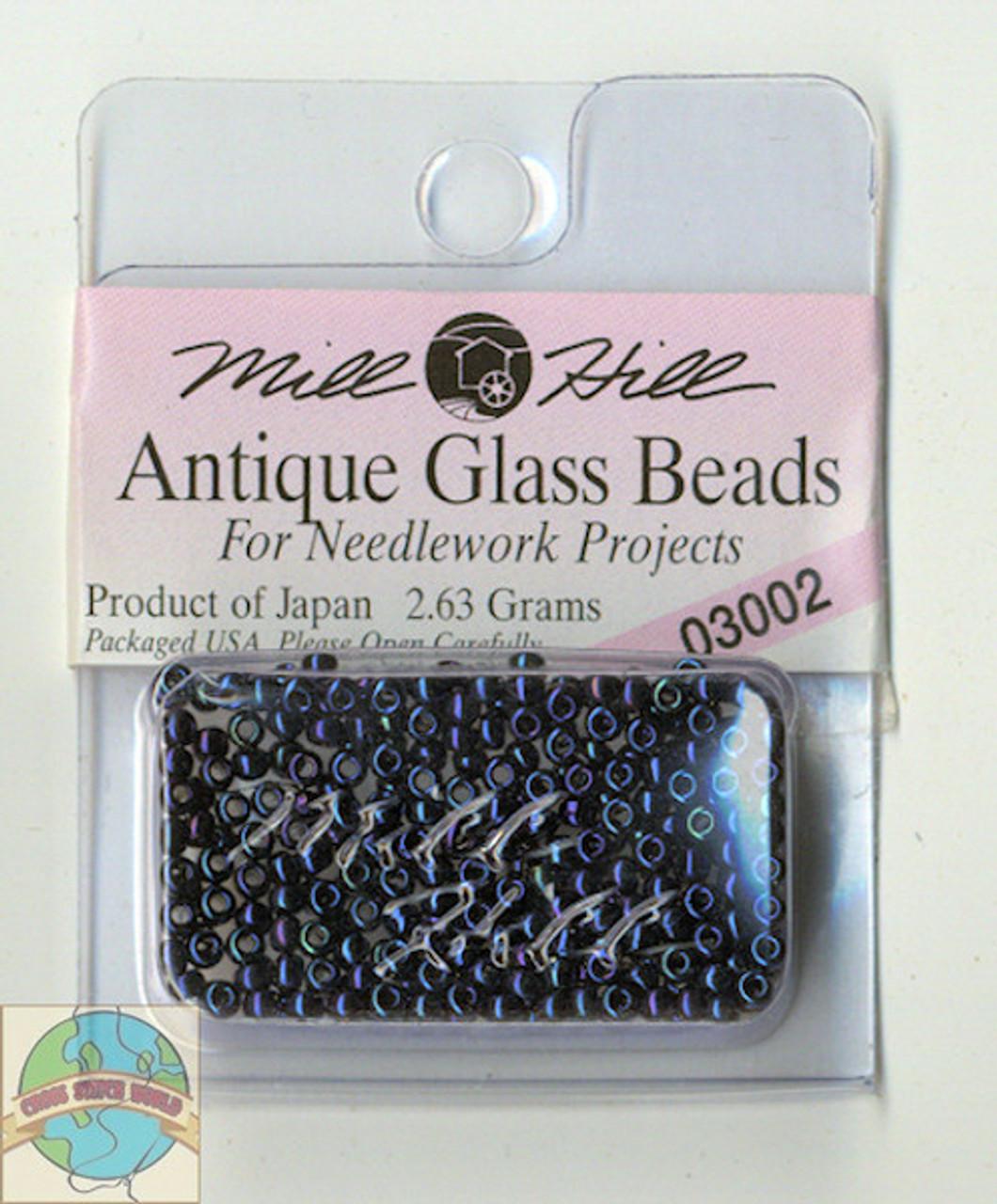 Mill Hill Antique Glass Beads 2.63g Midnight #03002