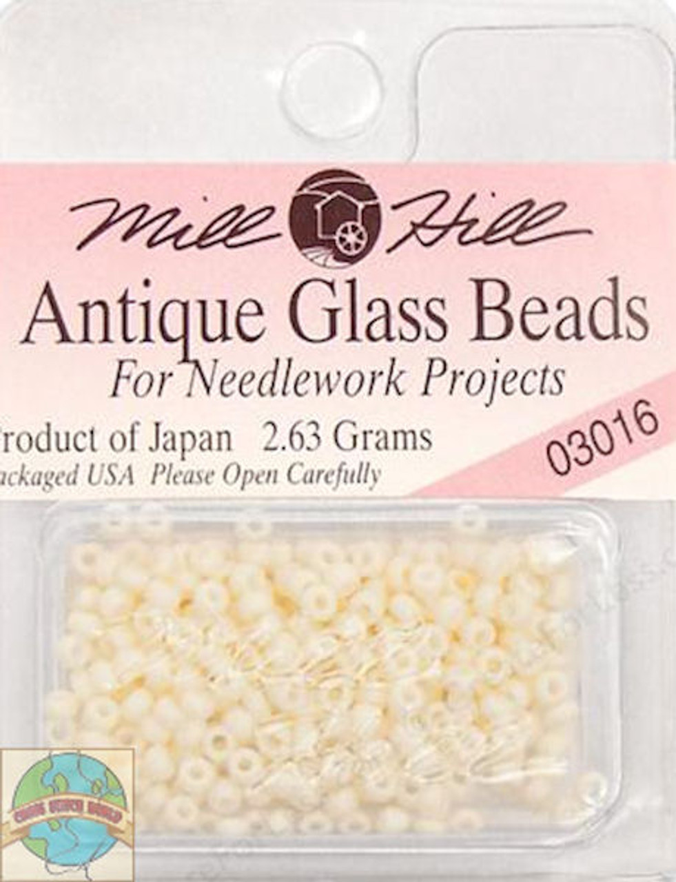 Mill Hill Antique Glass Beads 2.63g  Vanilla