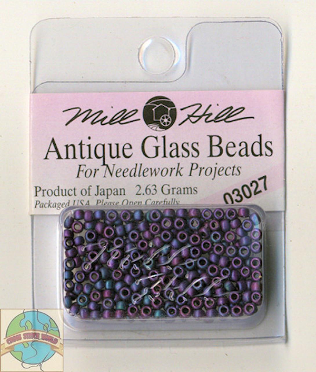 Mill Hill Antique Glass Beads 2.63g Caspian Blue