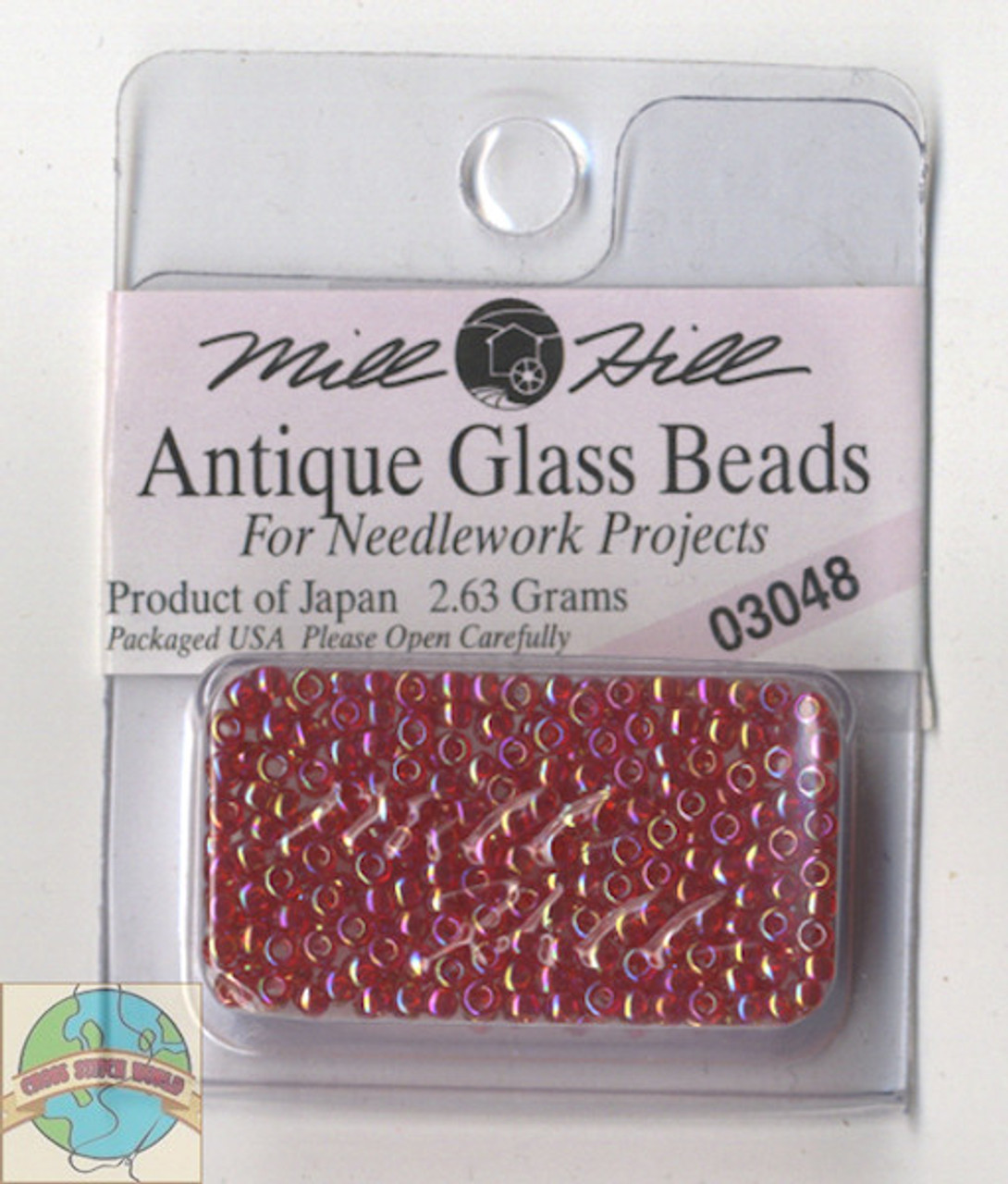 Mill Hill Antique Glass Beads 2.63g Cinnamon Red #03048