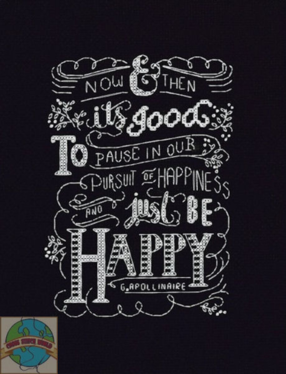 Design Works - Just Be Happy Chalkboard