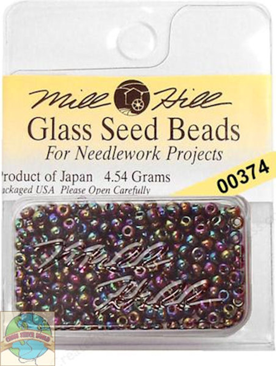 Mill Hill Glass Seed Beads 4.54g Rainbow