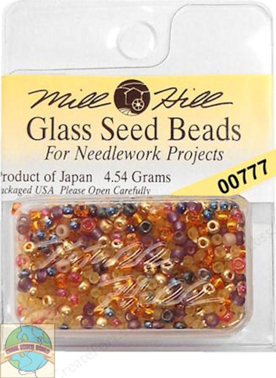 Mill Hill Glass Seed Beads 4.54g  Potpourri