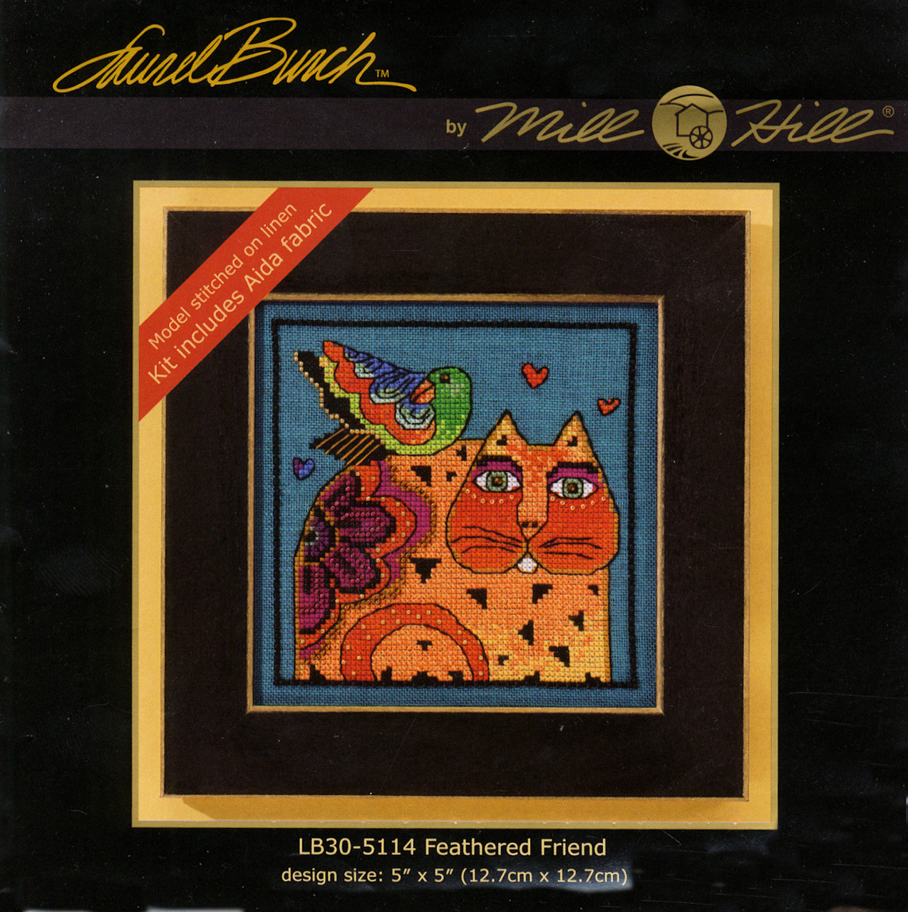 Mill Hill / Laurel Burch - Feathered Friend (AIDA)