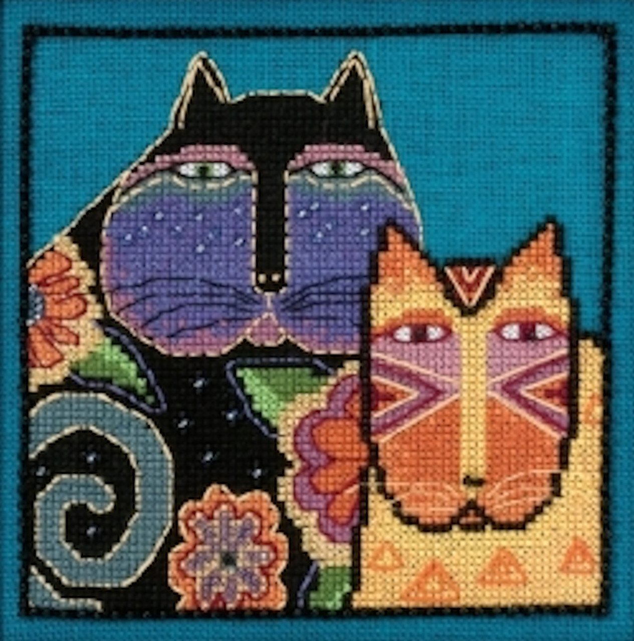Mill Hill / Laurel Burch - Feline Friends (AIDA)