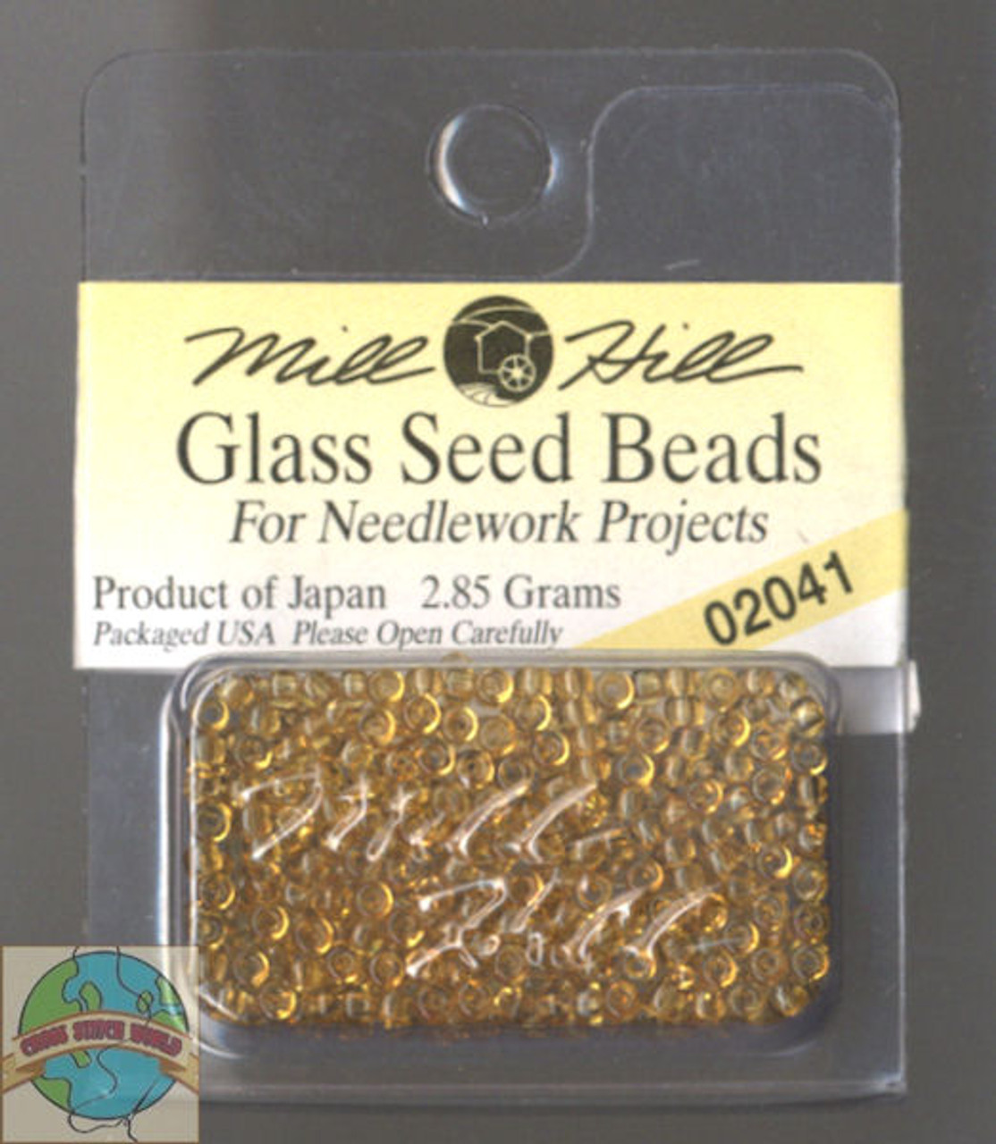 Mill Hill Glass Seed Beads 2.85g Maple #02041