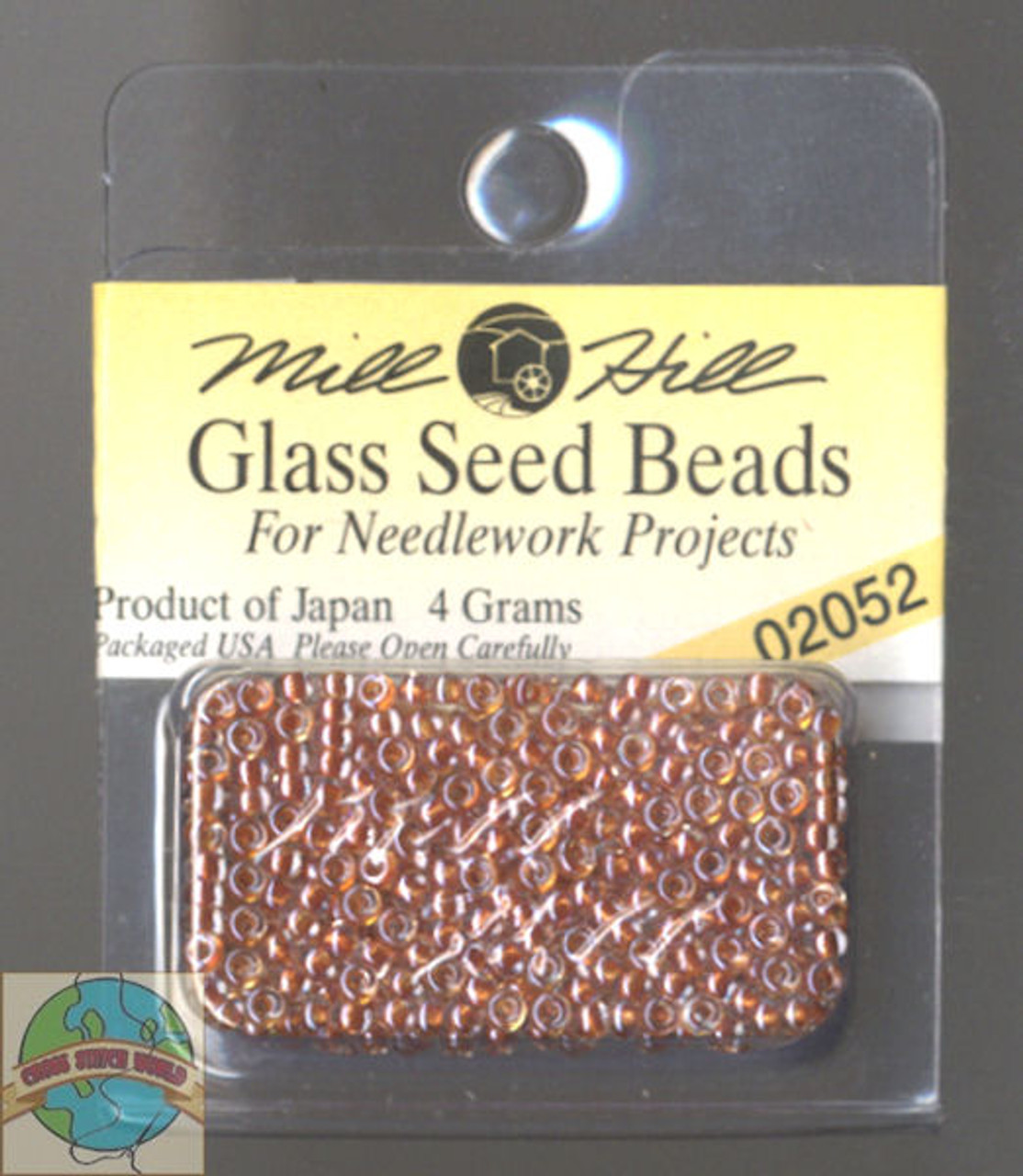 Mill Hill Glass Seed Beads 4g Dark Coral