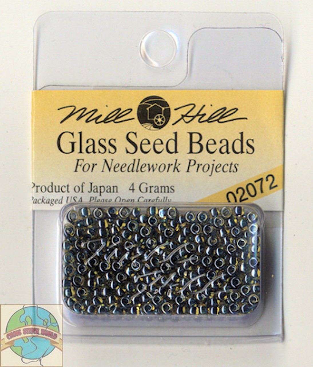 Mill Hill Glass Seed Beads 4g Teal