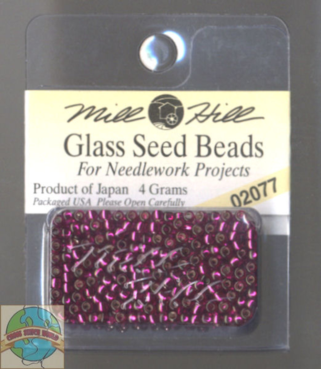 Mill Hill Glass Seed Beads 4g Brilliant Magenta