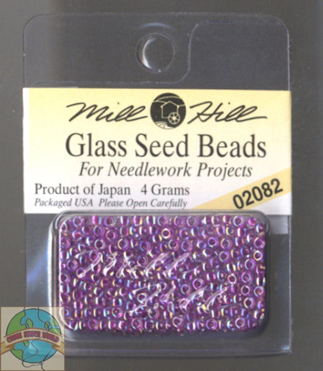 Mill Hill Glass Seed Beads 4g Opal Hyacinth #02082
