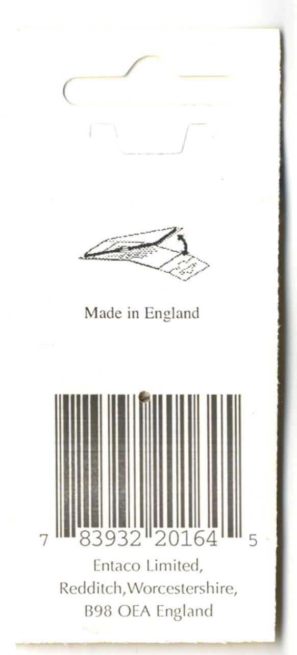John James - Size 10 Curved Beading Needles (2)