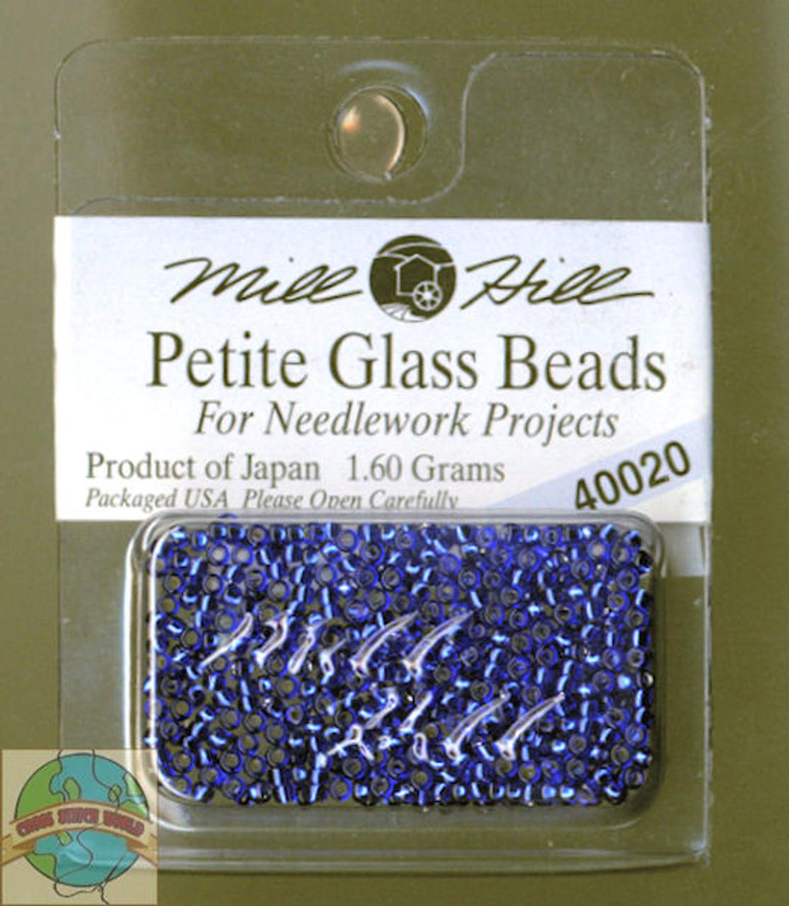 Mill Hill Petite Glass Beads 1.60g Royal Blue