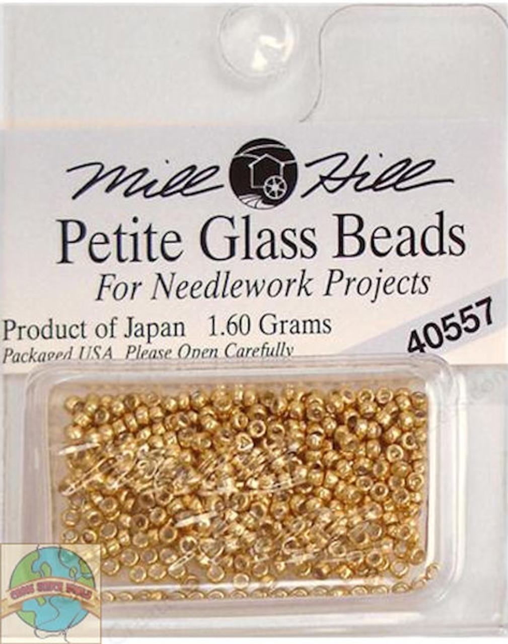 Mill Hill Petite Glass Beads 1.60g Gold #40557