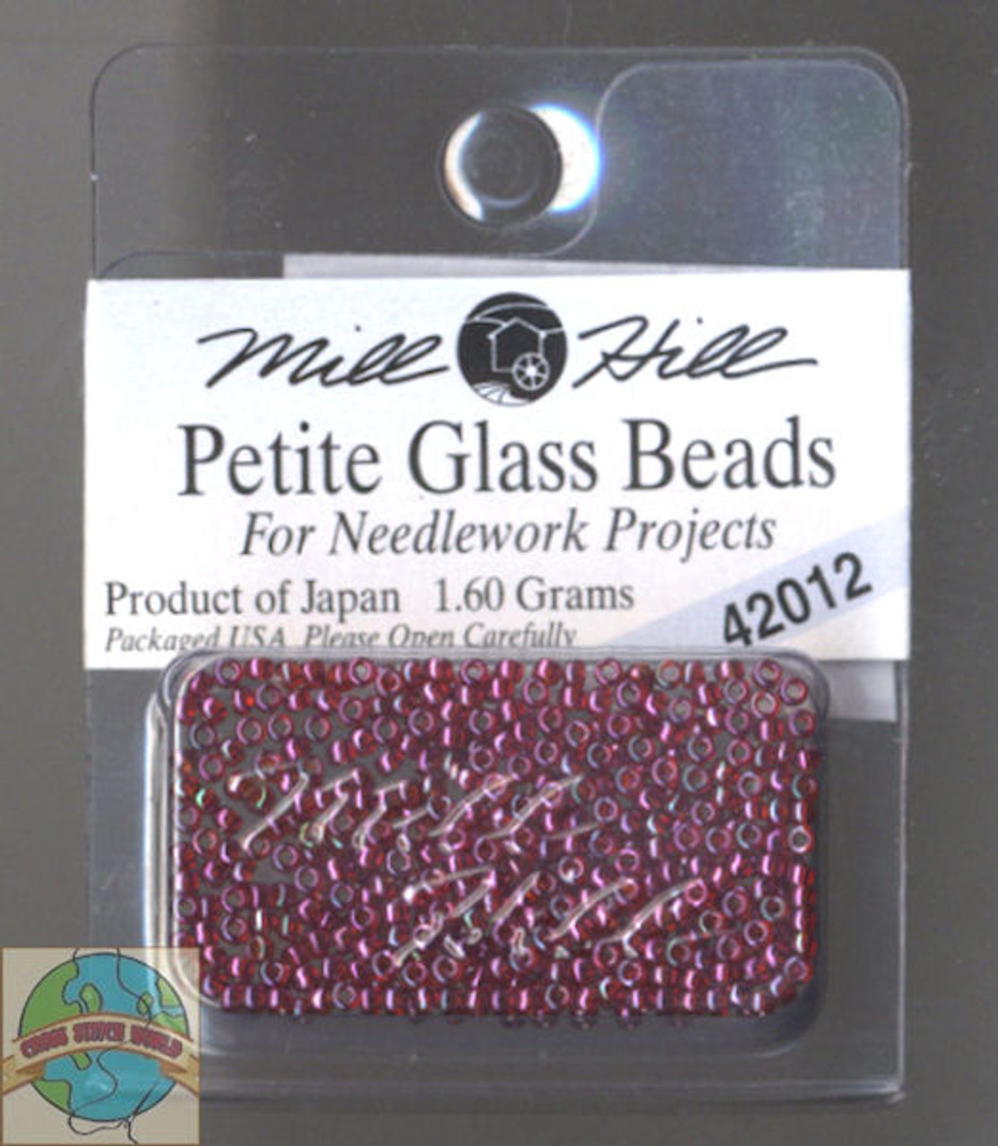Mill Hill Petite Glass Beads 1.60g Royal Plum #42012