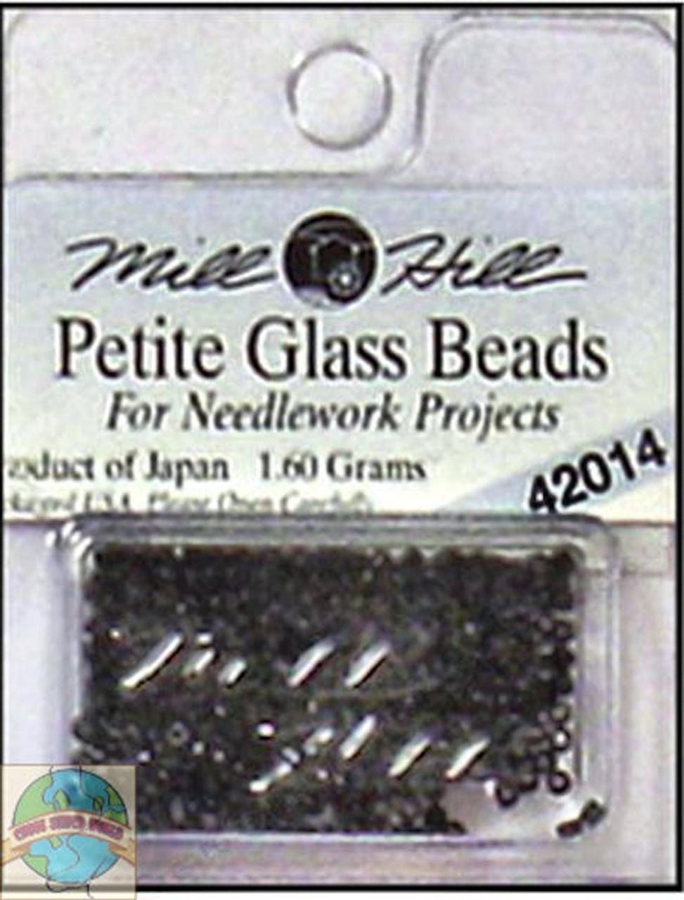 Mill Hill Petite Glass Beads 1.60g Black #42014