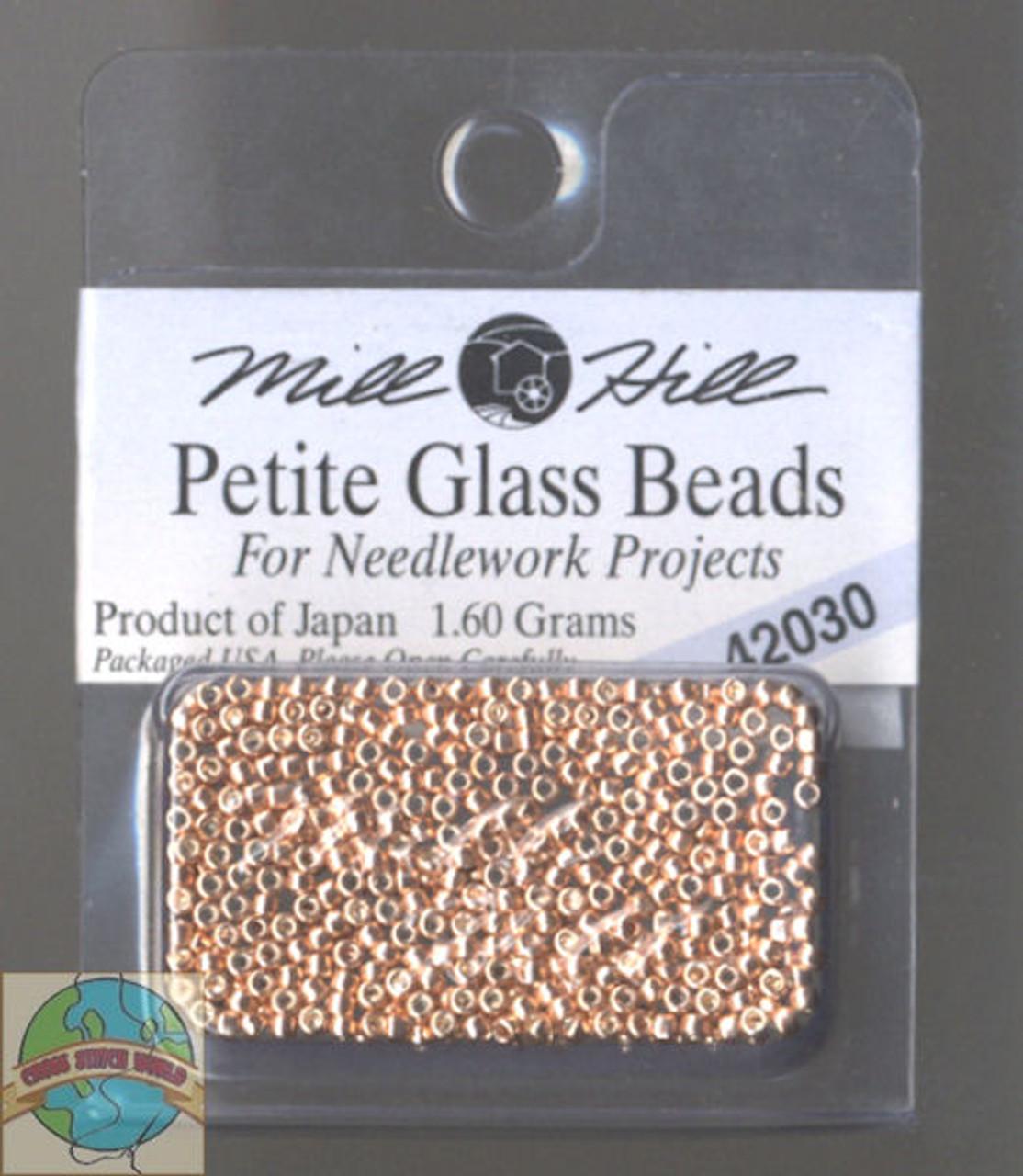 Mill Hill Petite Glass Bead 1.60g Victorian Copper