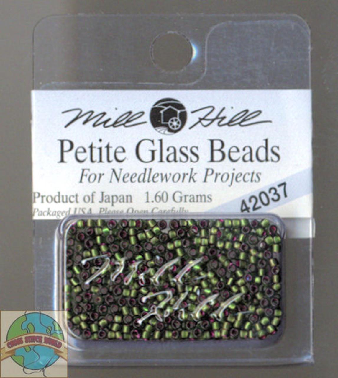 Mill Hill Petite Glass Beads 1.60g Green Velvet #42037