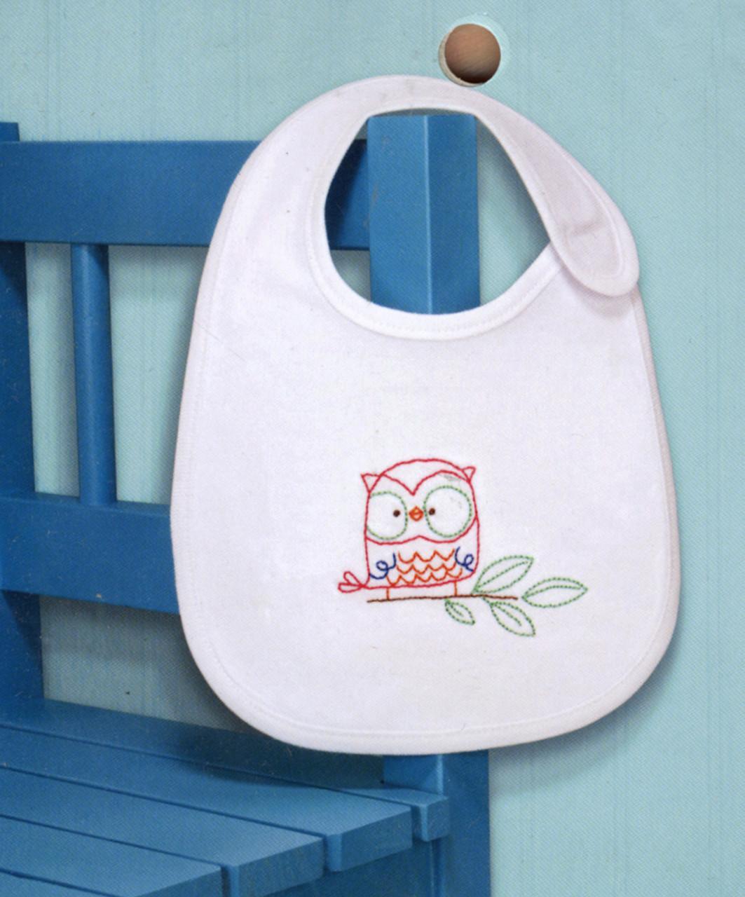 Dimensions - Owl Bib