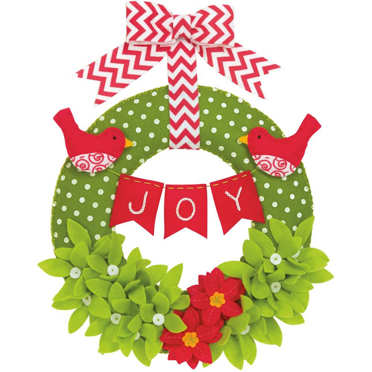 Dimensions - Joy Wreath