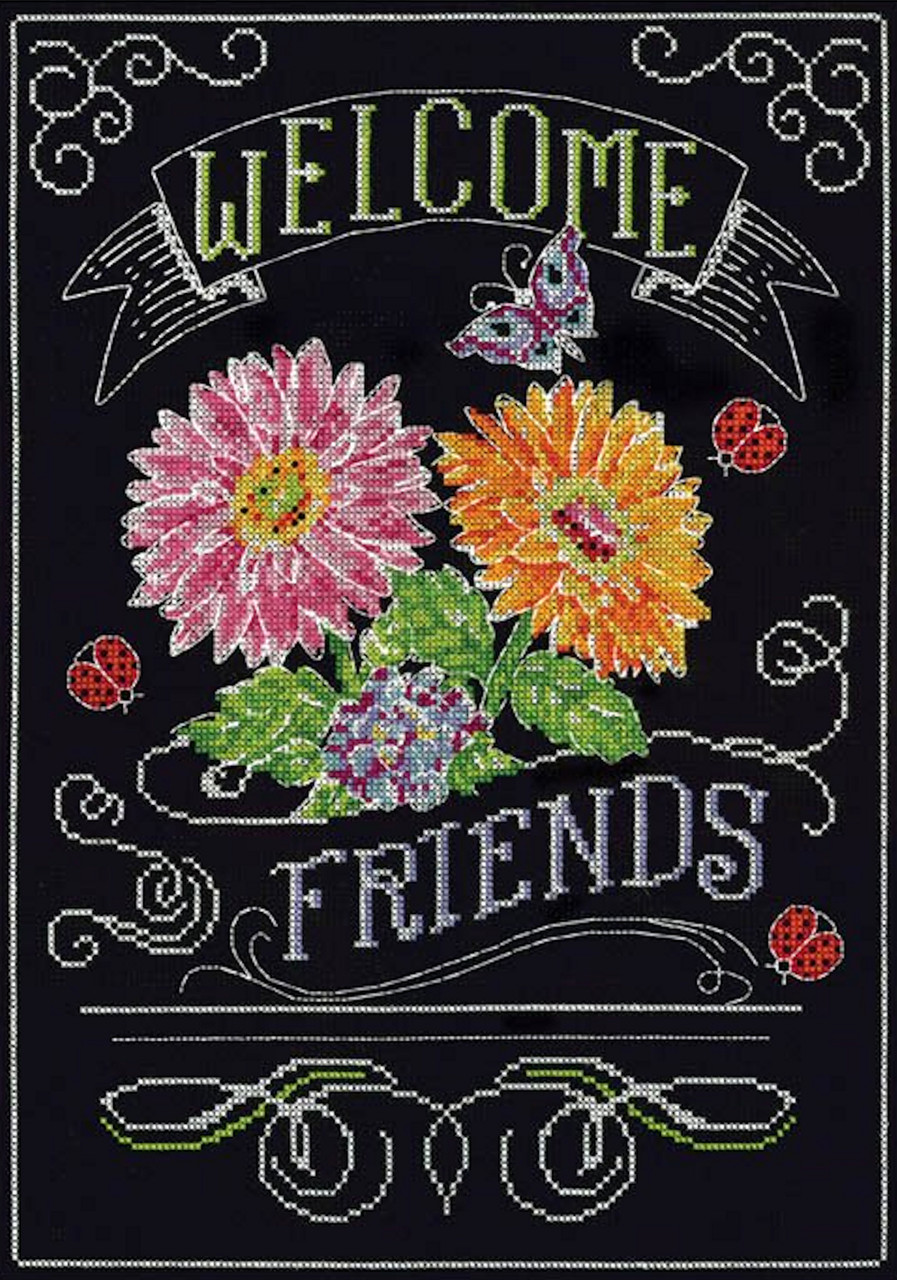 Design Works - Welcome Friends