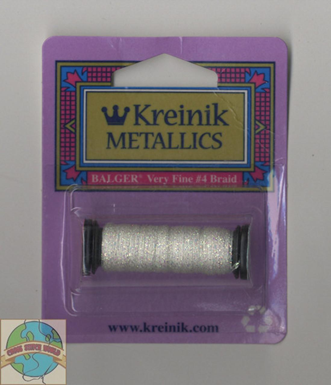 Kreinik Metallics - Very Fine #4 Pearl #032