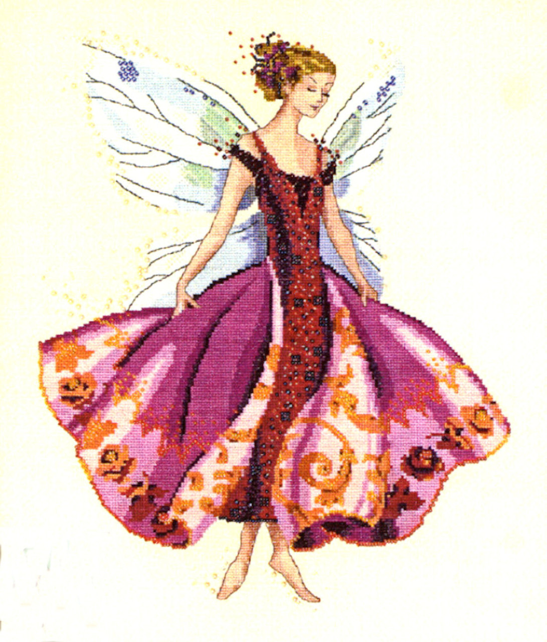Mirabilia Embellishment Pack - January Garnet Fairy