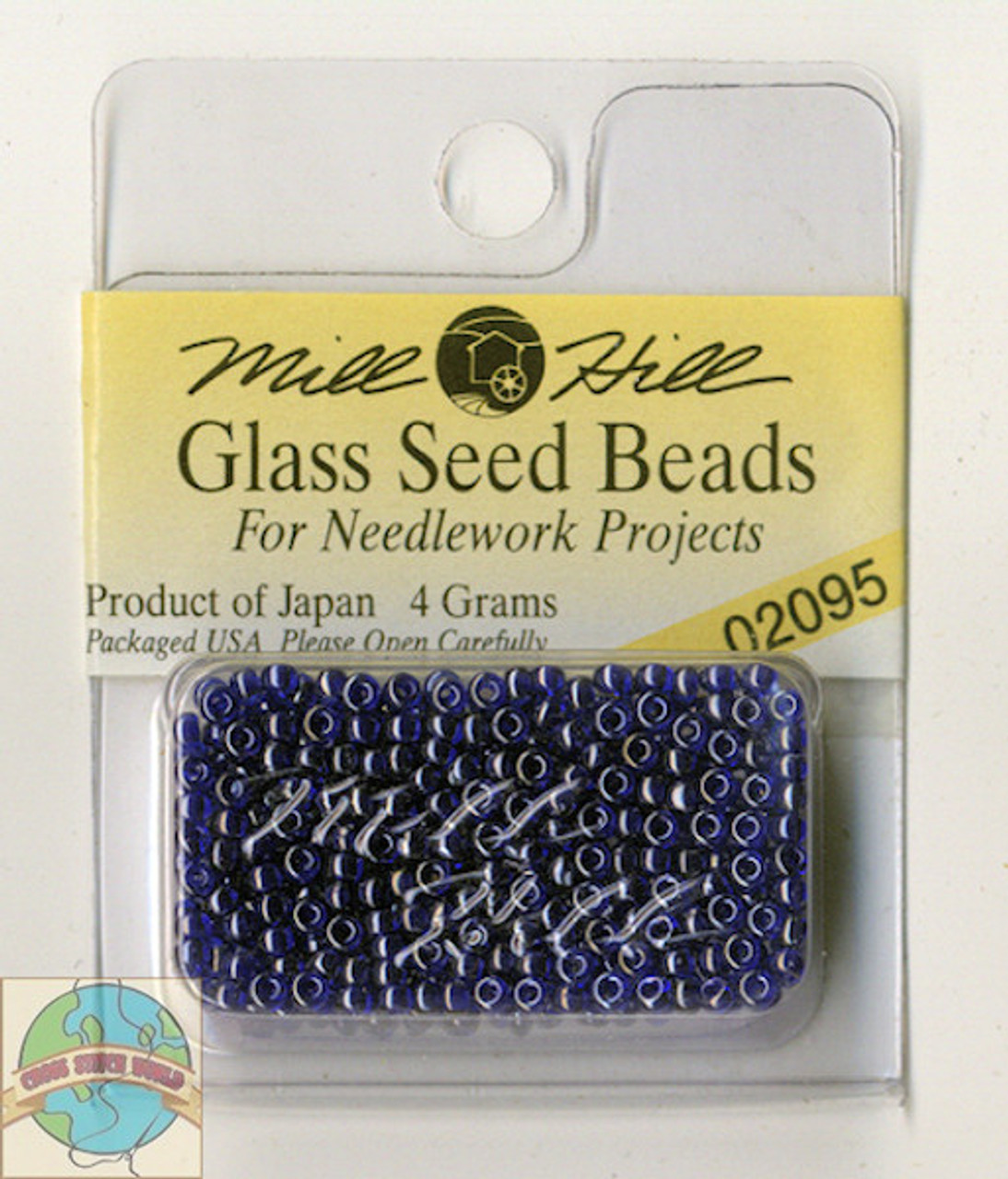 Mill Hill Glass Seed Beads 4g Indigo Passion #02095