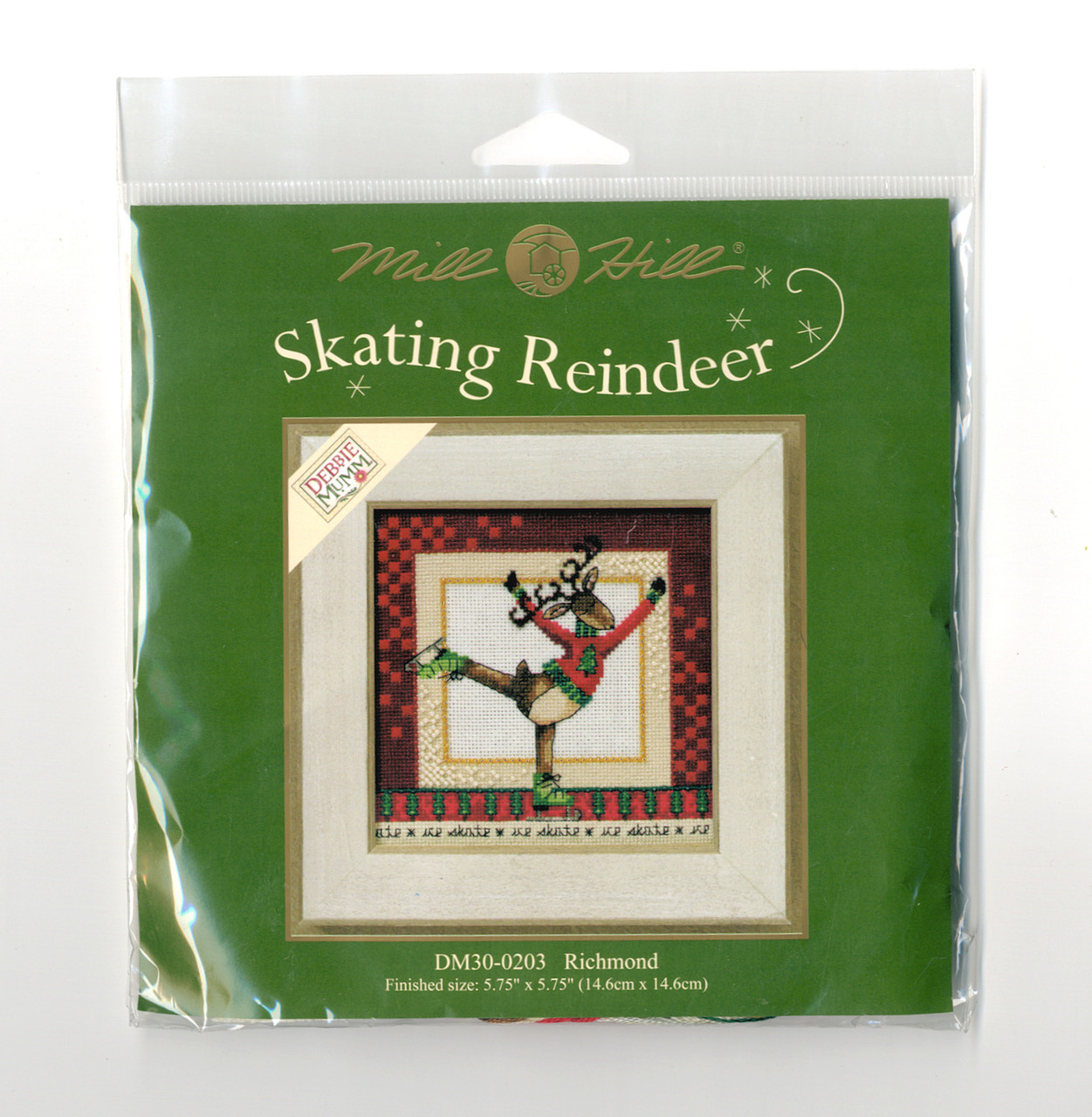 2010 Mill Hill Debbie Mumm Skating Reindeer - Richmond