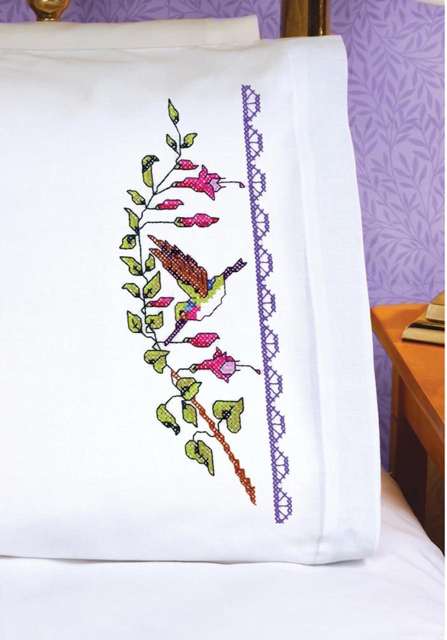 Janlynn - Hummingbird Pillowcases (2)
