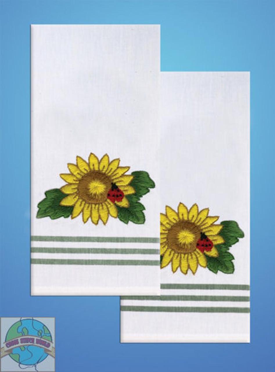 Design Works - Sunflower Towels (2)