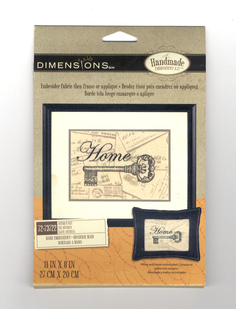Dimensions - Antique Key