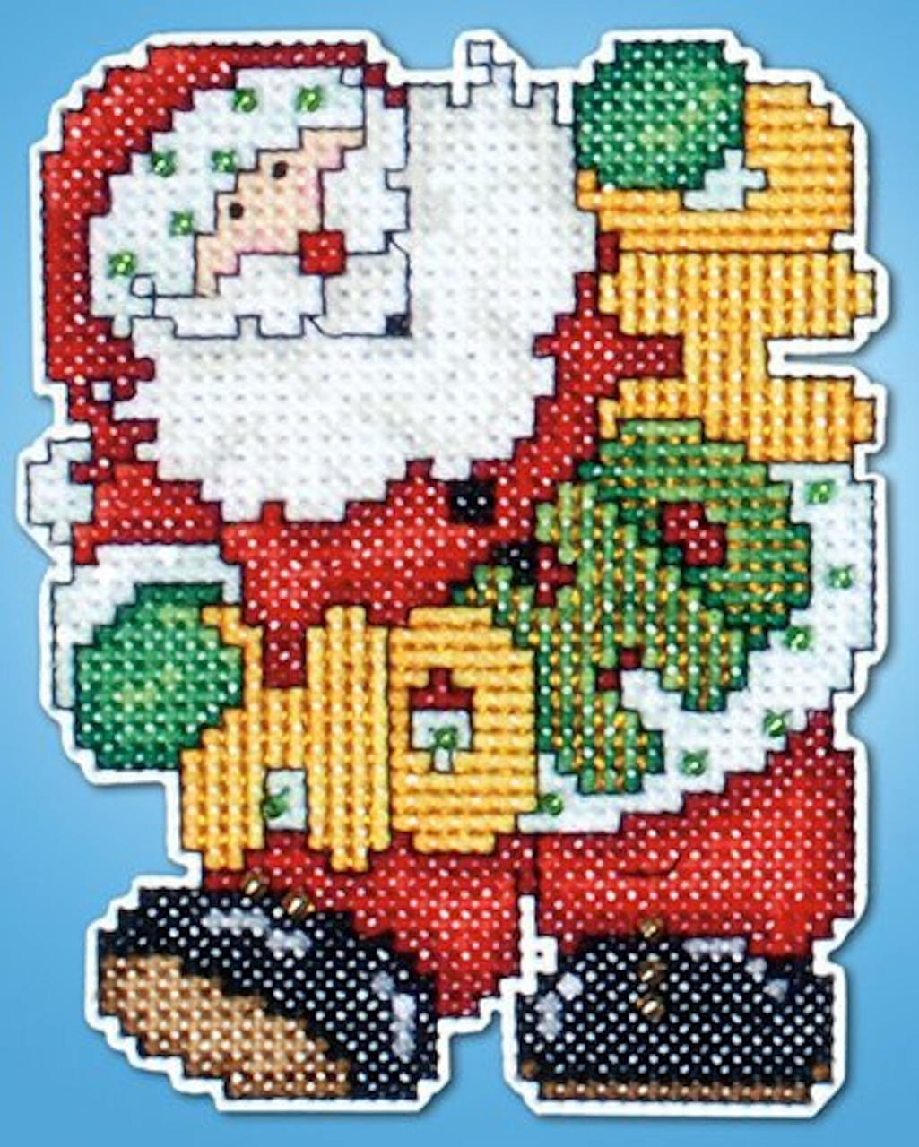 Design Works - HO, HO, HO Santa Ornament