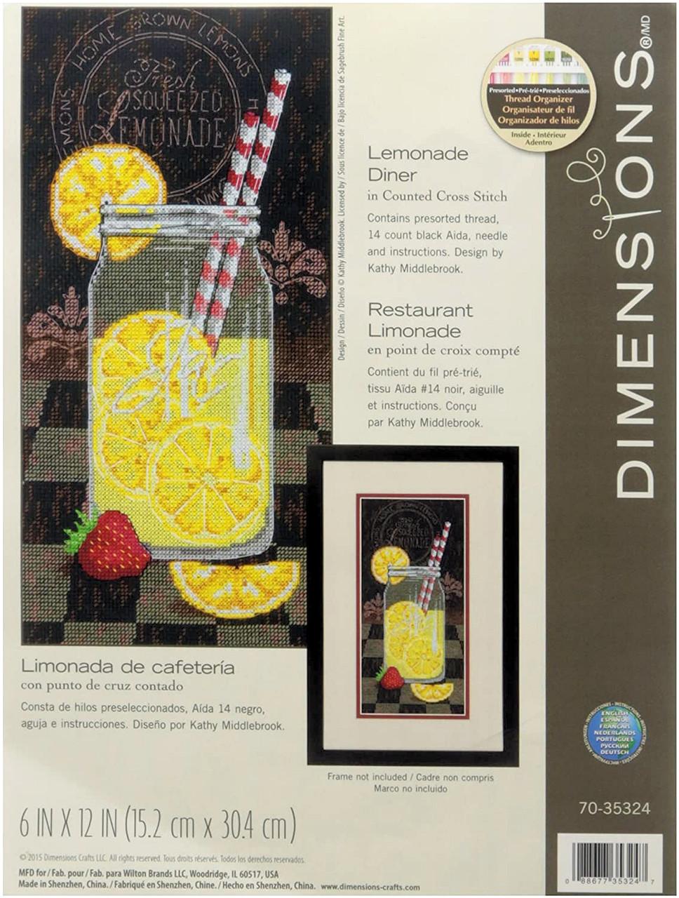 Dimensions -  Lemonade Diner