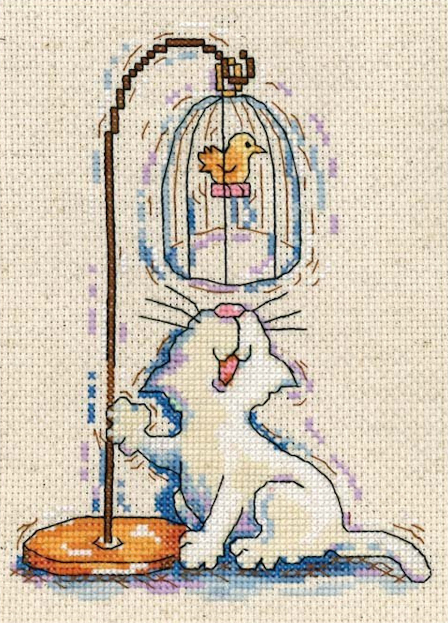 Design Works - Birdcage Cat