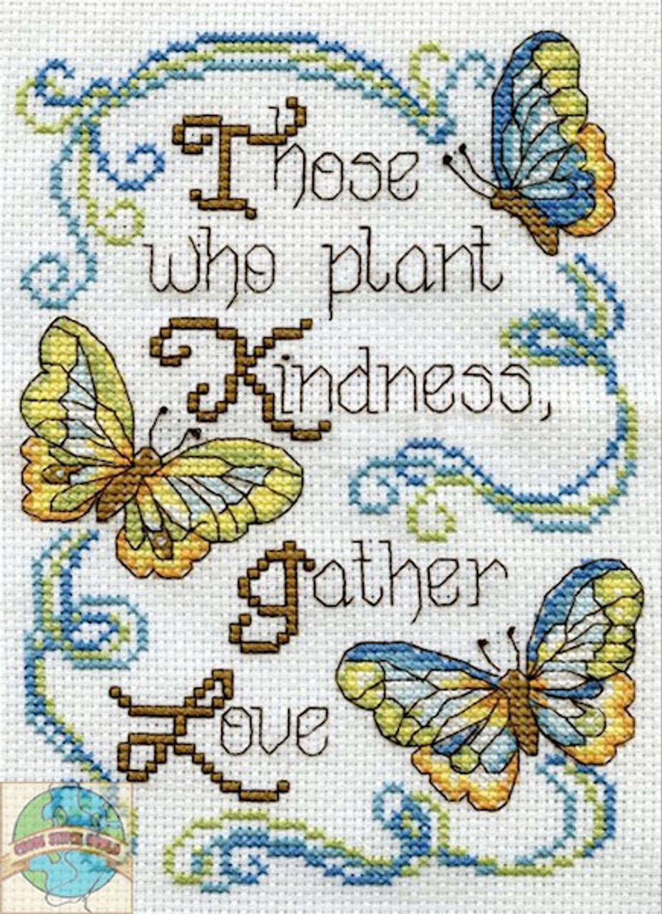 Design Works - Butterfly Kindness