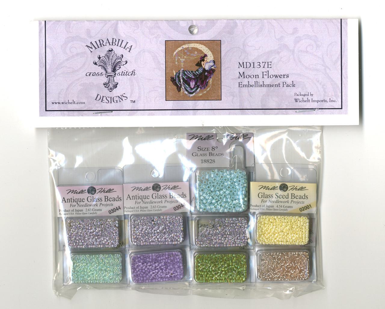 Mirabilia Embellishment Pack - Moon Flowers