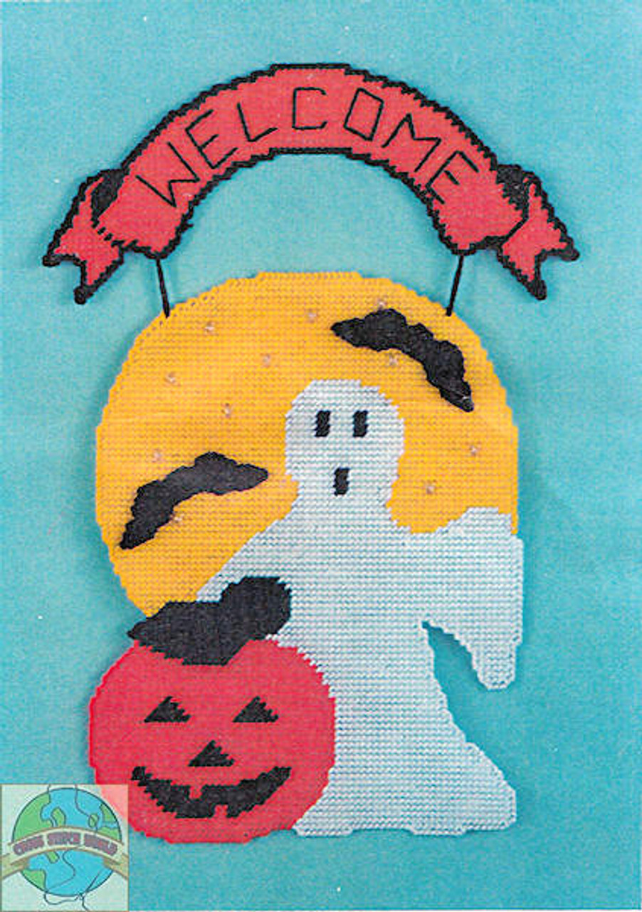 Design Works - Welcome Ghost Wall Hanging - SALE!