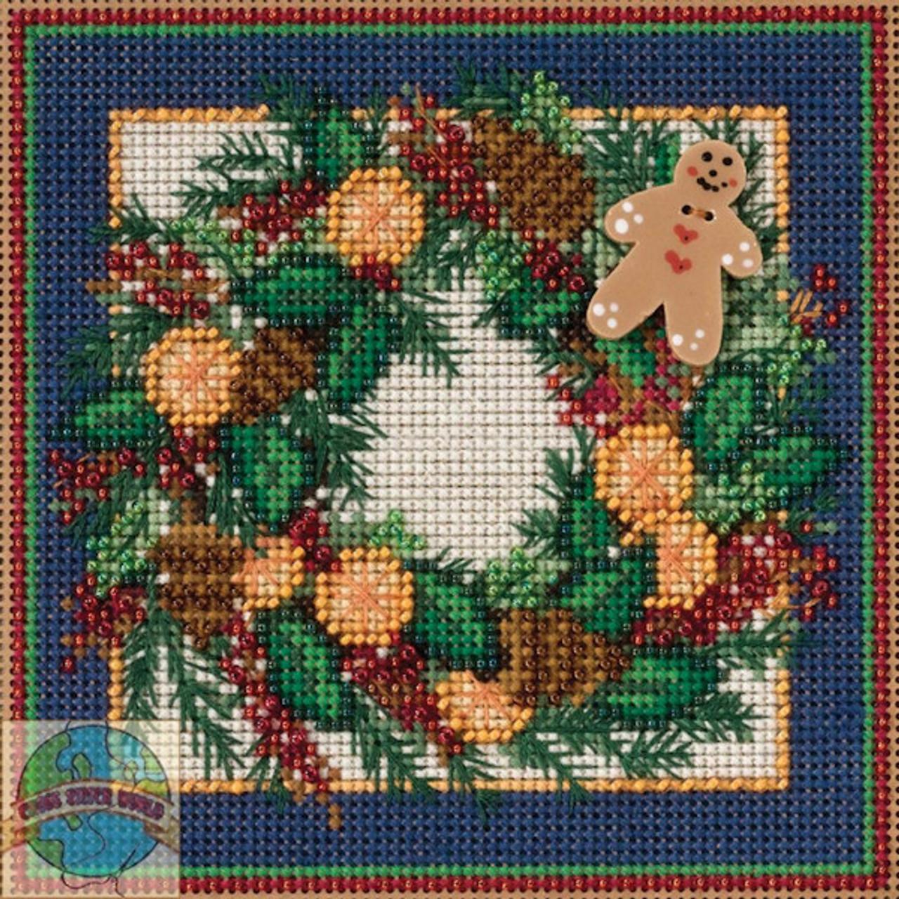 2015 Mill Hill Buttons & Beads Winter Series  - Spiced Wreath