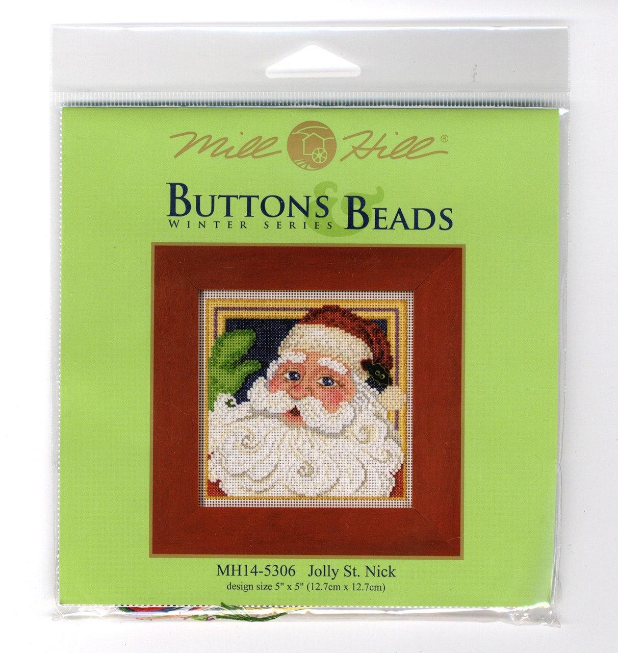 2015 Mill Hill Buttons & Beads Winter Series - Jolly St. Nick