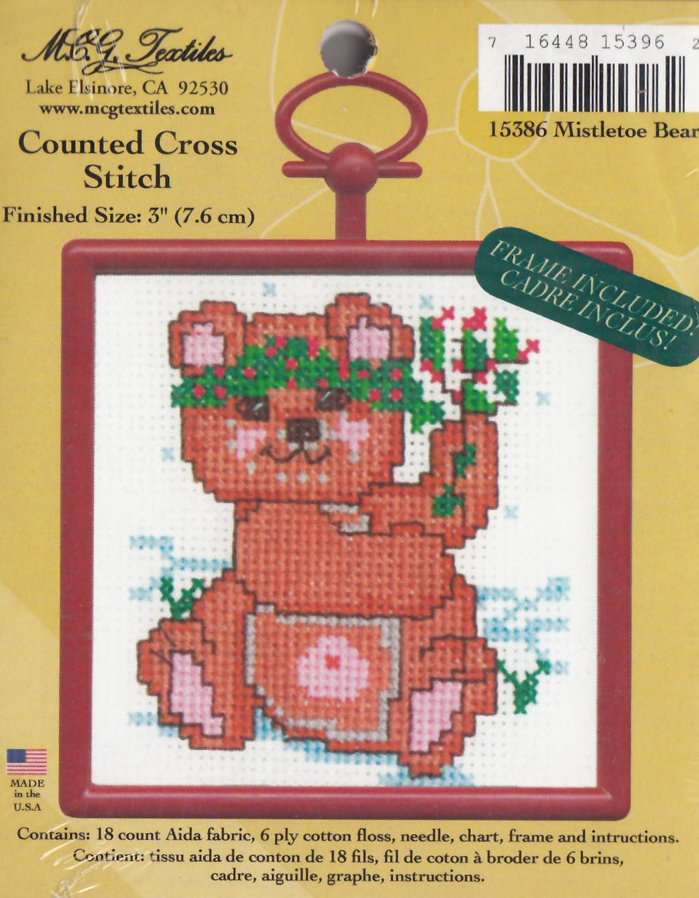 Candamar Mini - Mistletoe Bear