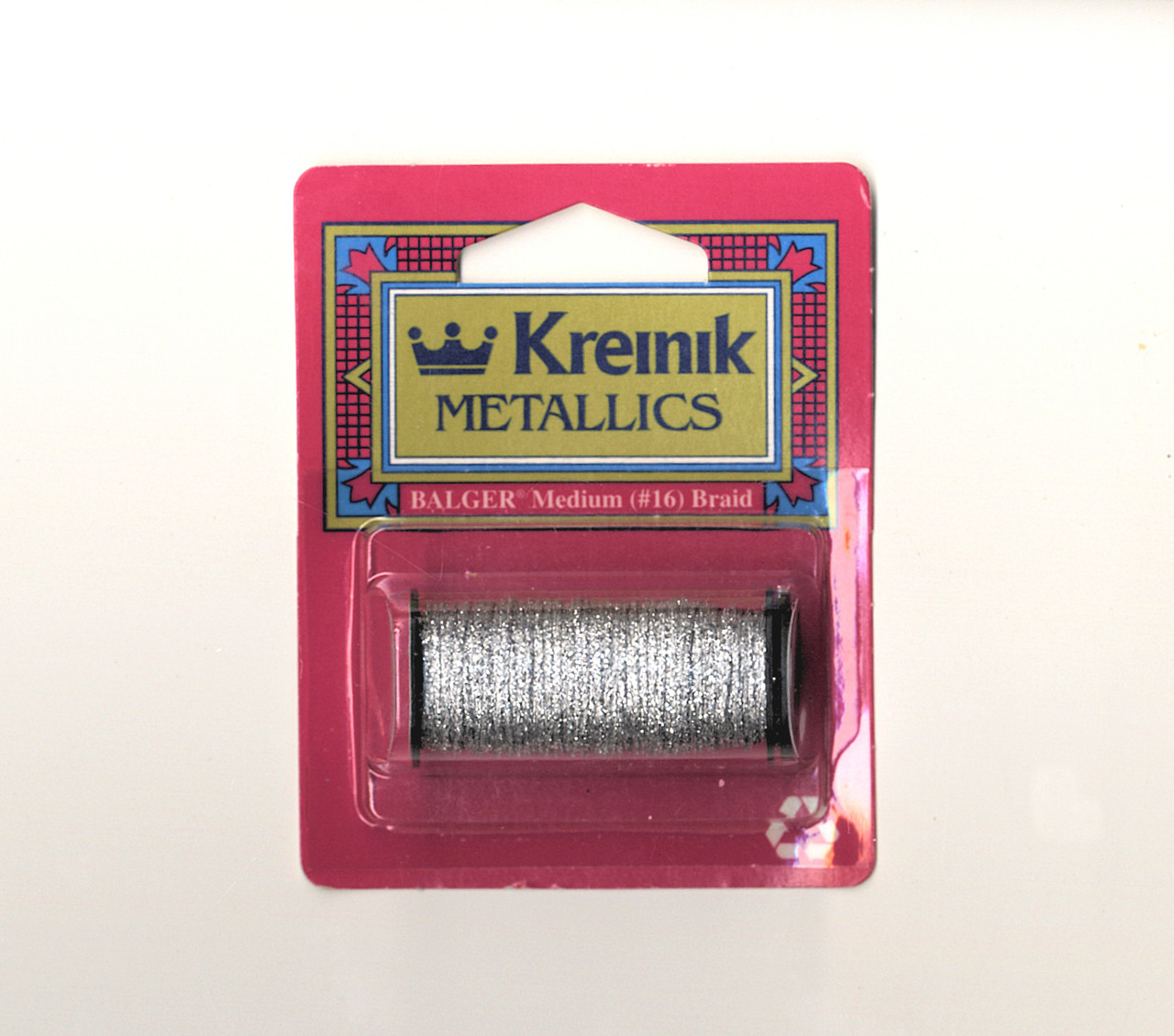 Kreinik Metallics - Medium #16 Silver #001