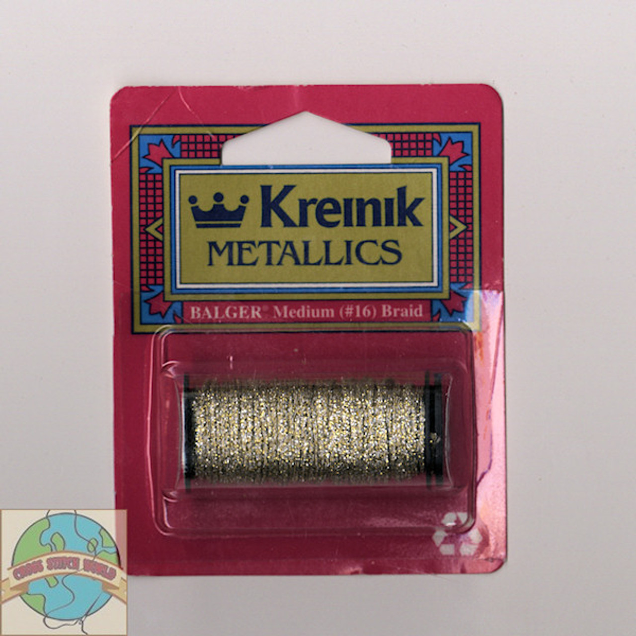 Kreinik Metallics - Medium #16 Vatican Gold 102