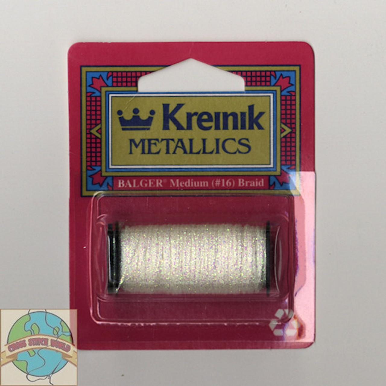 Kreinik Metallics - Medium #16 Pearl #032