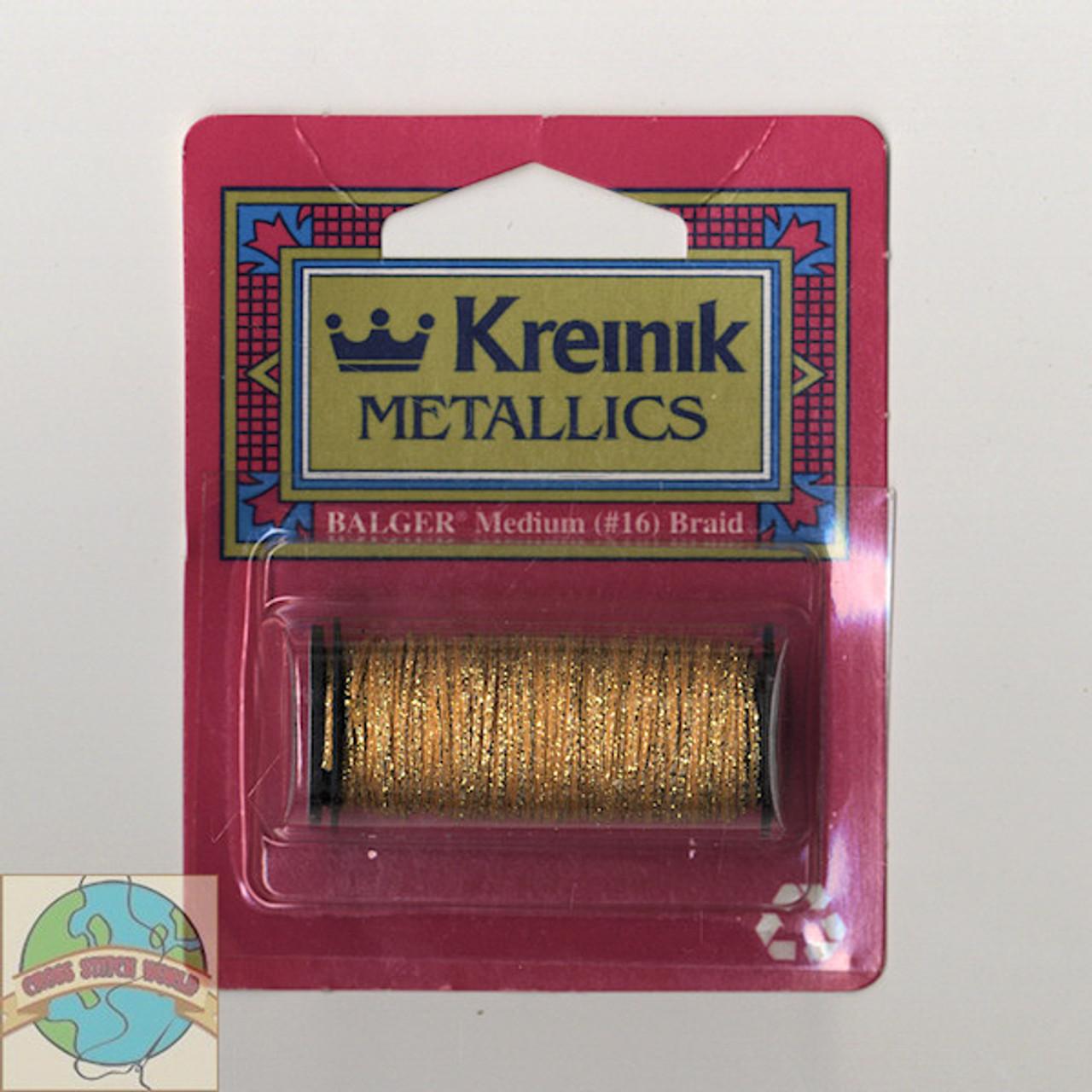Kreinik Metallic Medium #16 Golden Chardonnay #5815