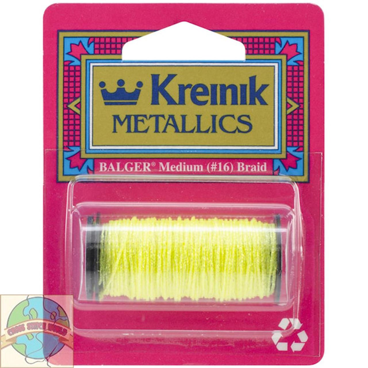 Kreinik Metallics - Medium #16 Lemon Grass 9132