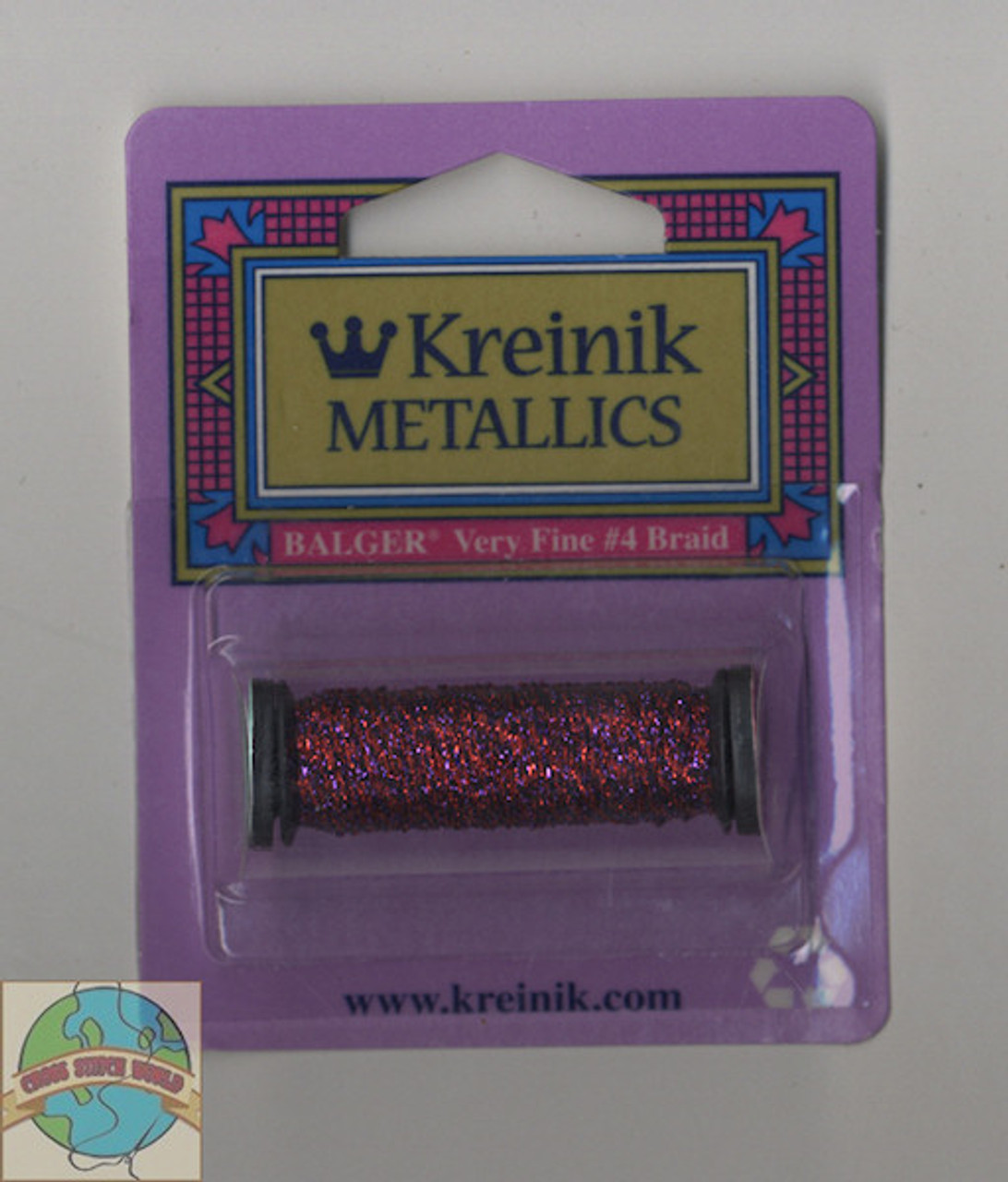 Kreinik Metallics - Very Fine #4 Hibiscus 326
