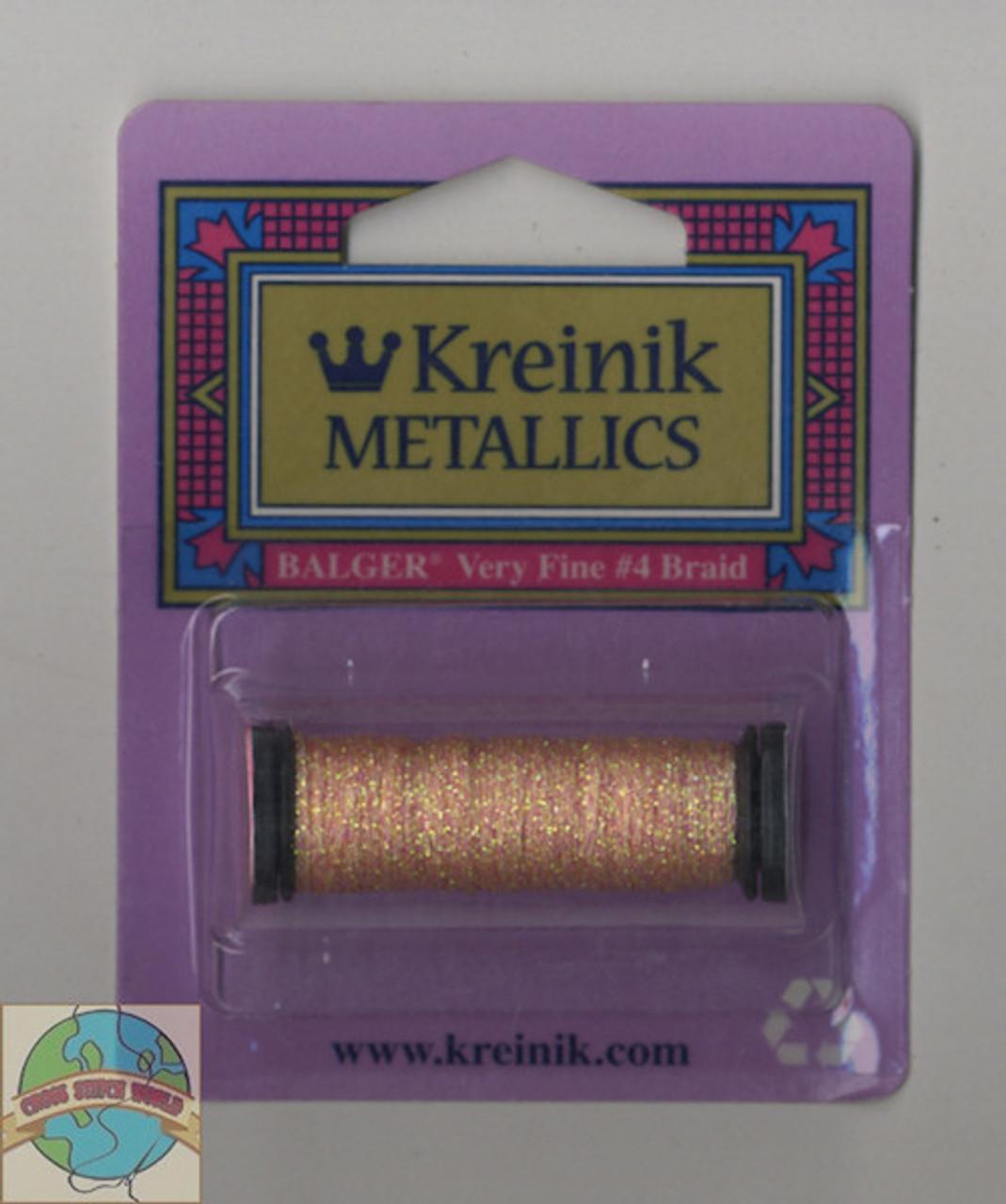 Kreinik Metallics - Very Fine #4 Light Peach 9192