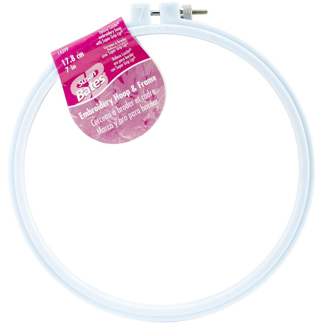 Susan Bates - 7 in Deluxe Luxite Embroidery Hoop