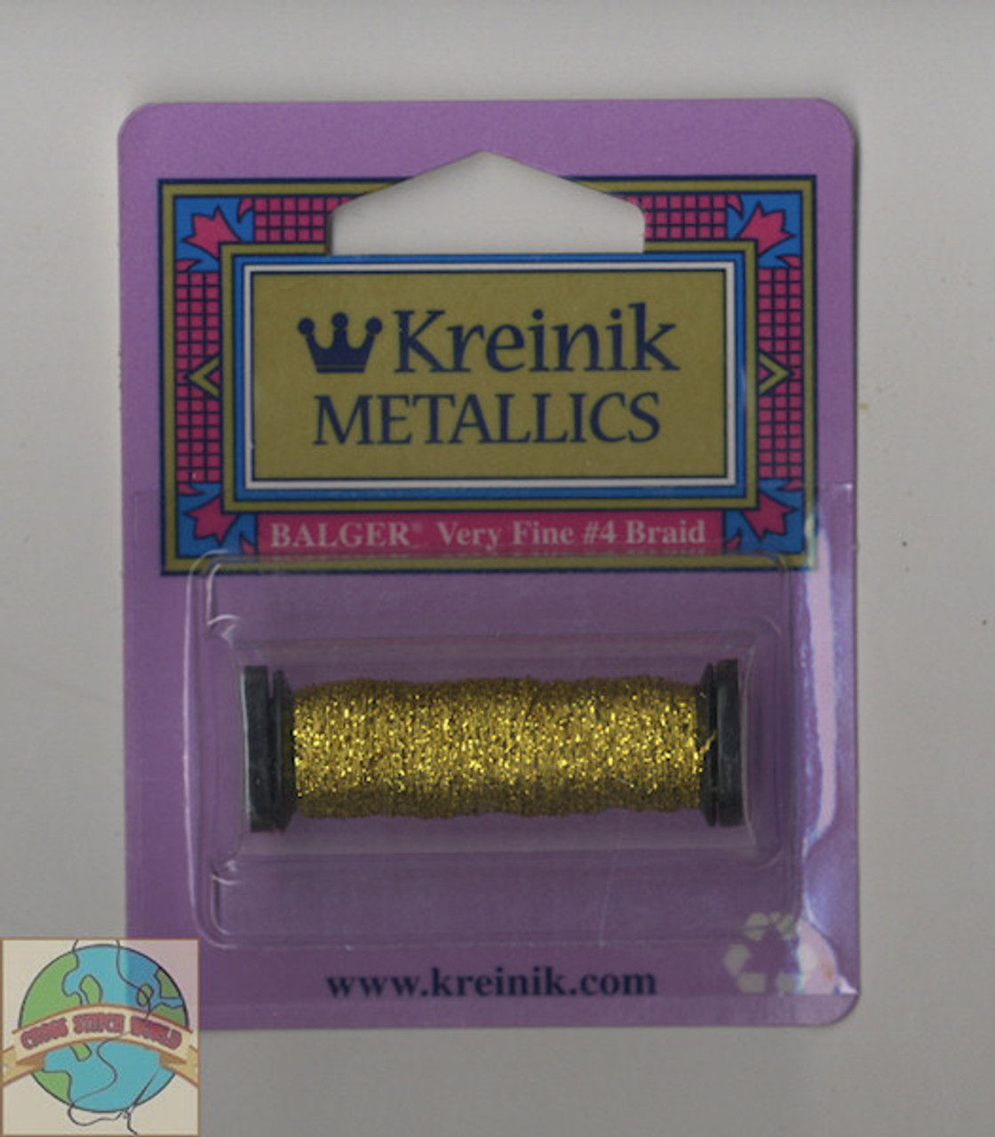 Kreinik Metallics - Very Fine #4 Citron #028