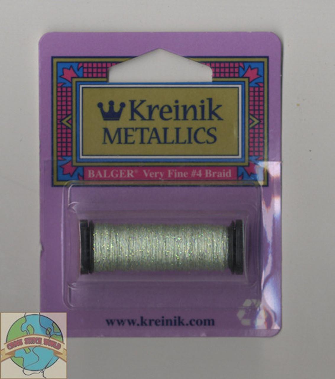 Kreinik Metallics - Very Fine #4 Pale Green #198